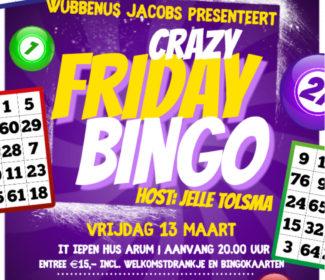 Bingo tot nader bericht uitgesteld